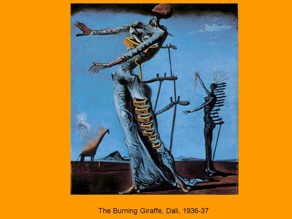 The Burning Giraffe, Dali, 1936-37