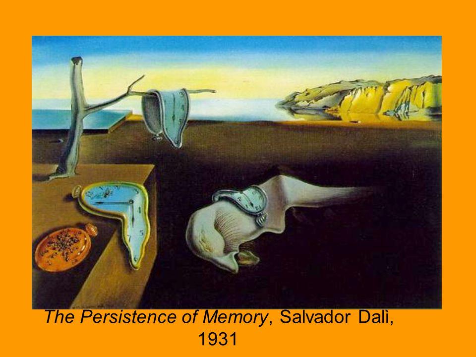 The Persistence of Memory, Salvador Dalì, 1931