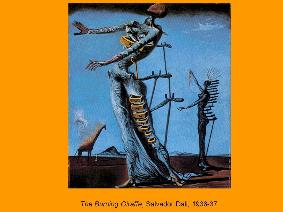 The Burning Giraffe, Salvador Dali, 1936-37