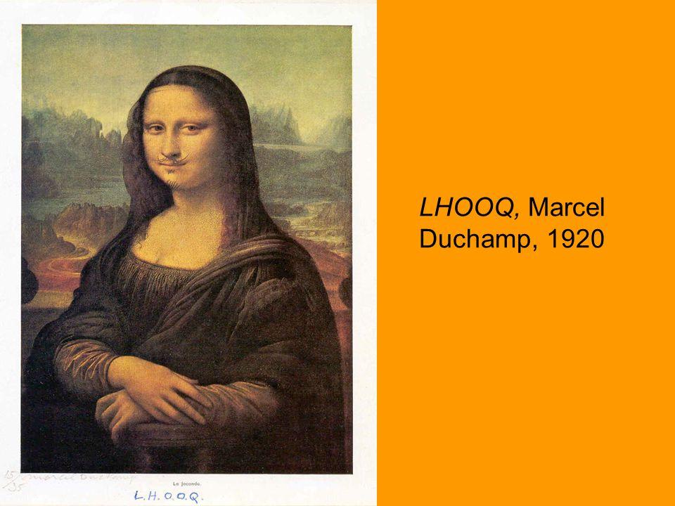 LHOOQ, Marcel Duchamp, 1920