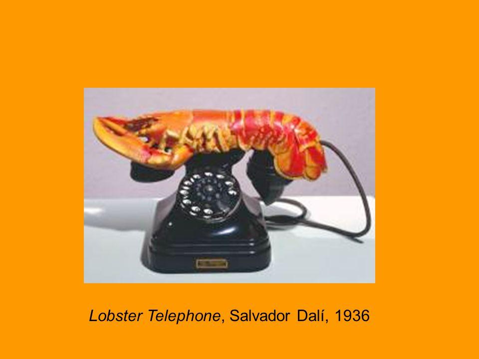 Lobster Telephone Lobster Telephone, Salvador Dalí, 1936