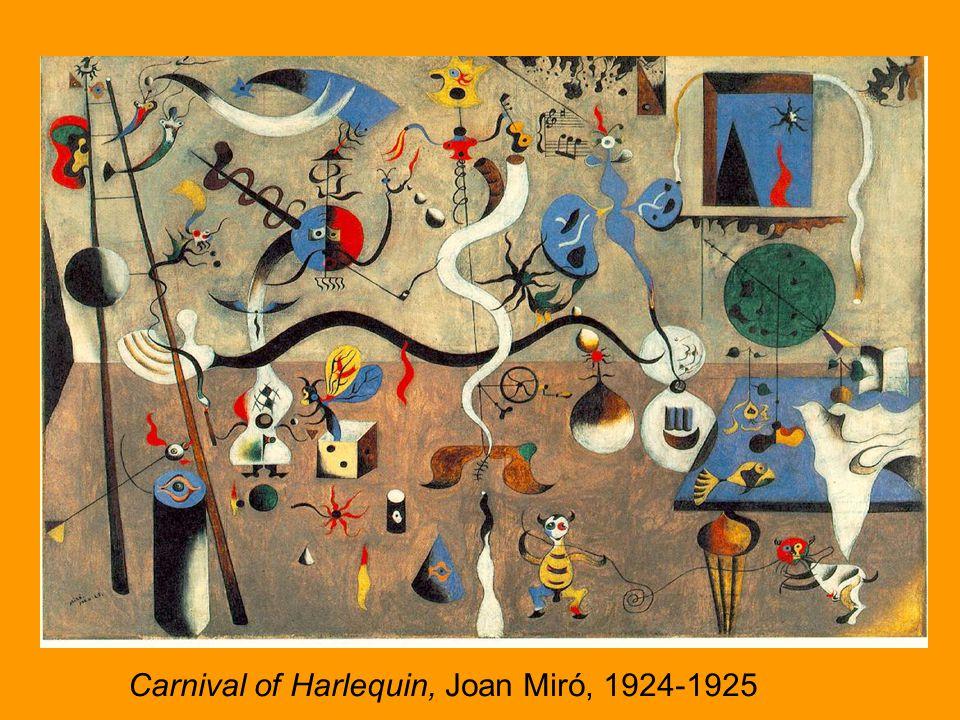 Carnival of Harlequin, Miro