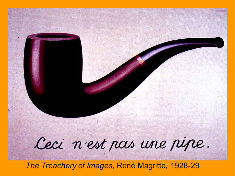 The Treachery of Images, Rene Magritte