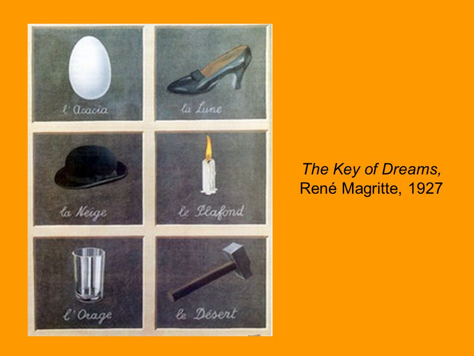 The Key of Dreams, René Magritte, 1927