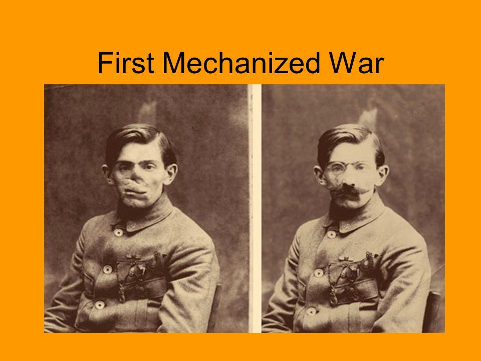 First Mechanized War