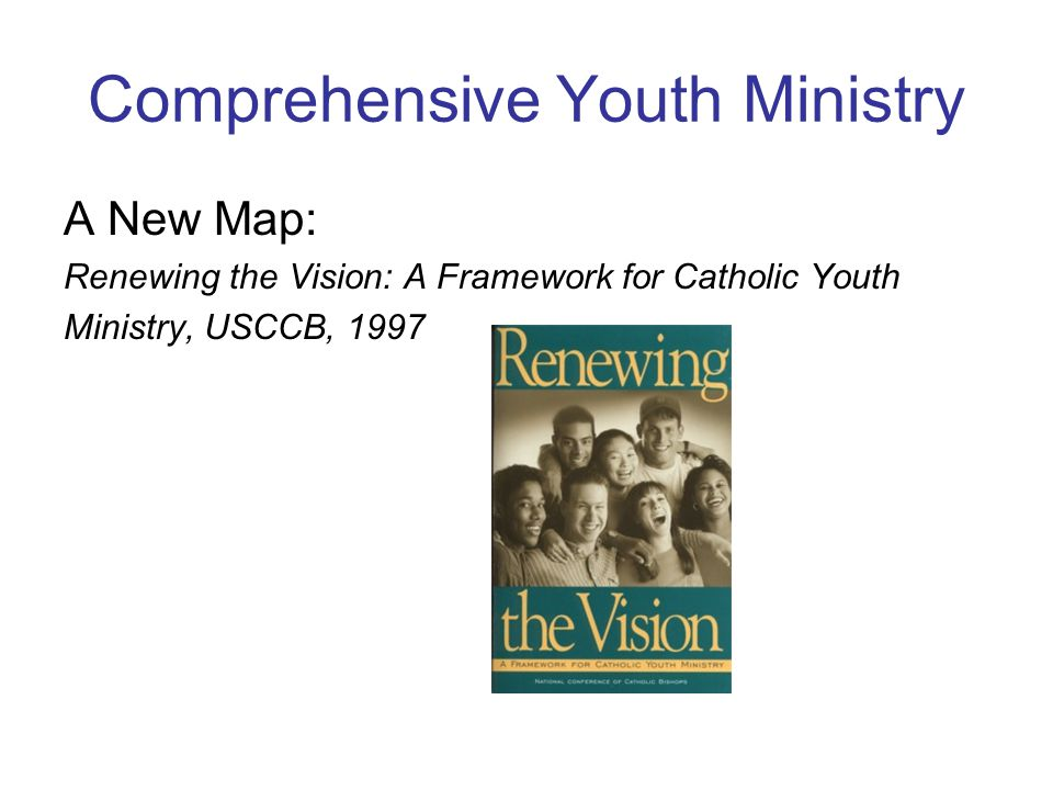 Comprehensive Youth Ministry
