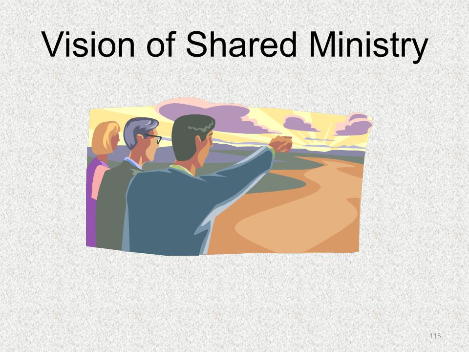 Vision of Shared Ministry