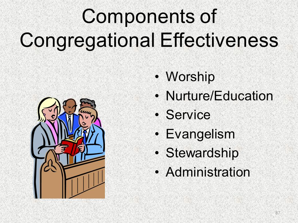 Components of Congregational Effectiveness
