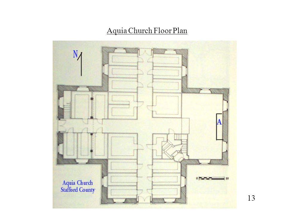Aquia Church Floor Plan