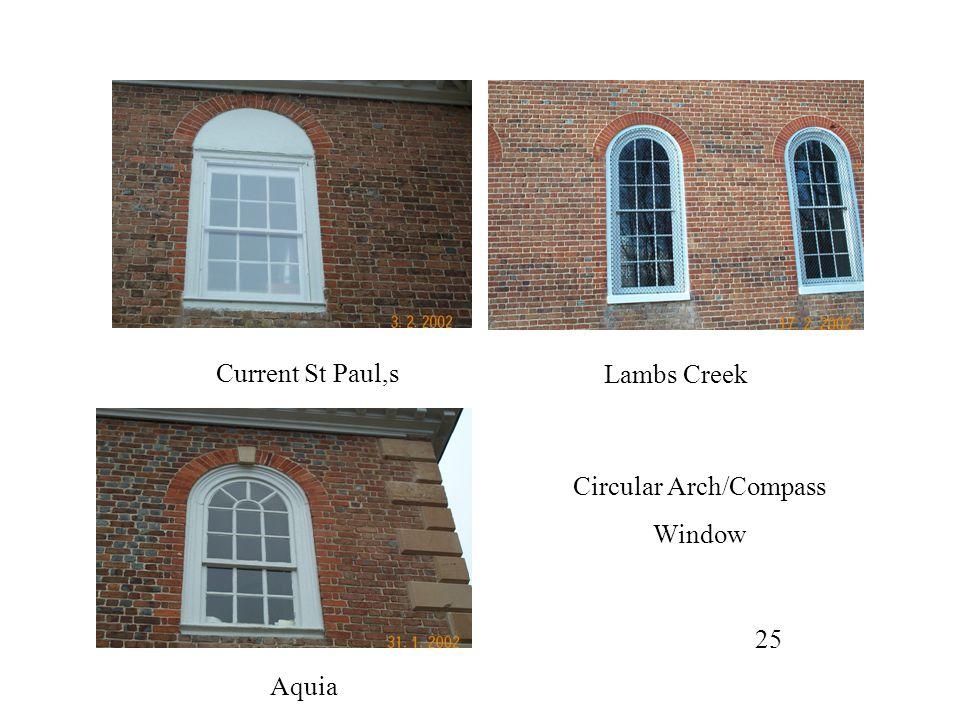 Circular Arch/Compass