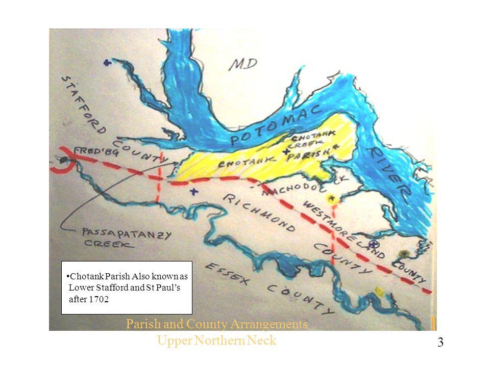 Parish and County Arrangements