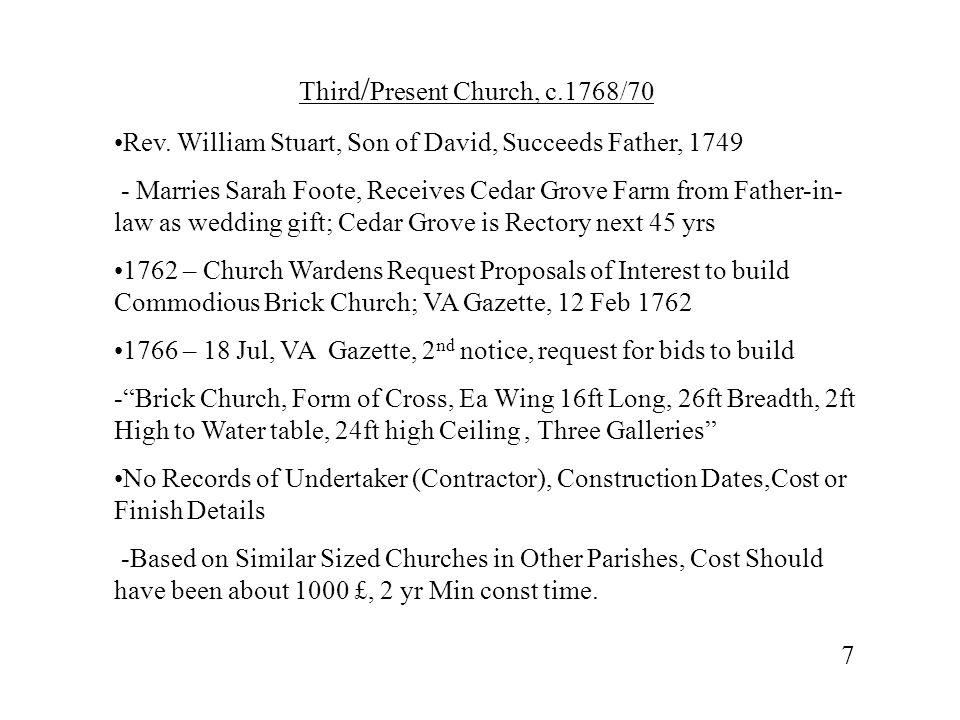 Third/Present Church, c.1768/70