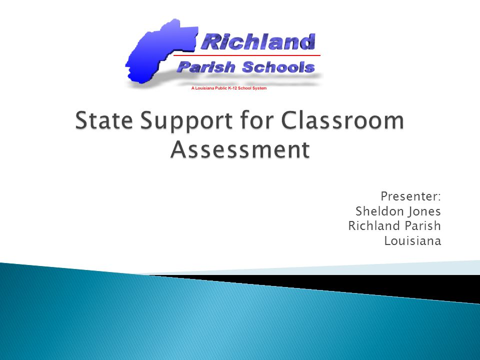 State Support for Classroom Assessment