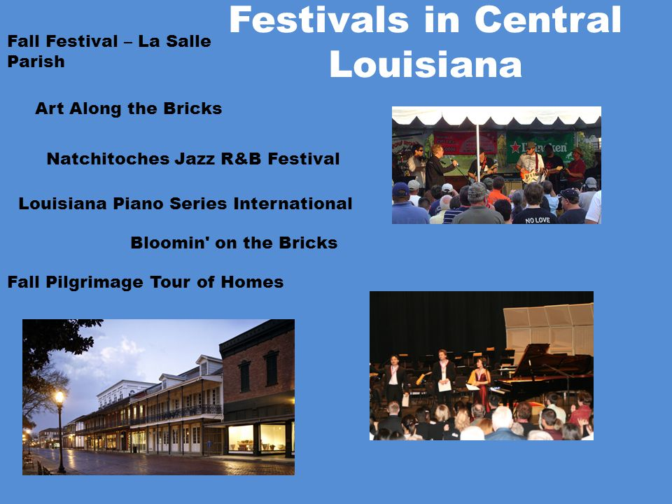 Festivals in Central Louisiana