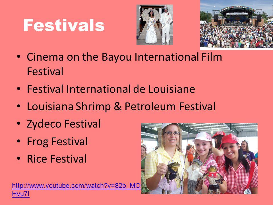 Festivals Cinema on the Bayou International Film Festival