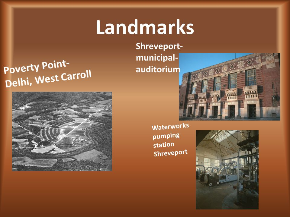 Landmarks Poverty Point- Delhi, West Carroll