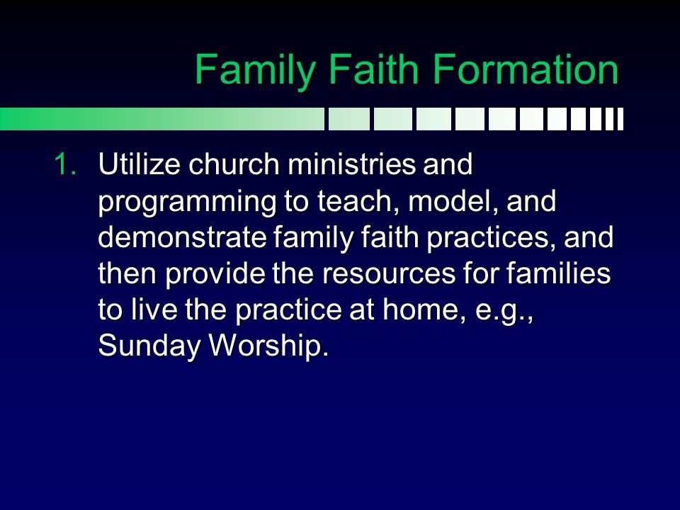 Family Faith Formation