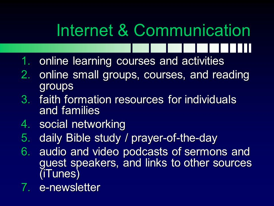 Internet & Communication