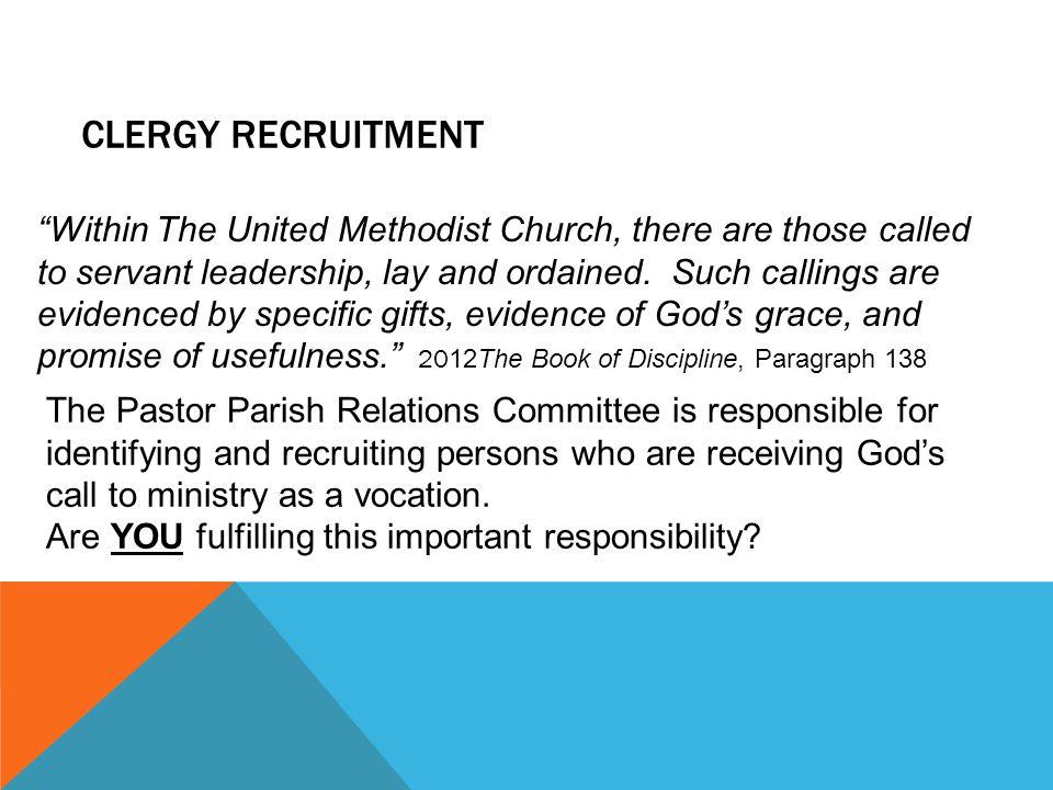 Clergy Recruitment