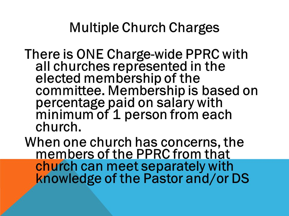 Multiple Church Charges