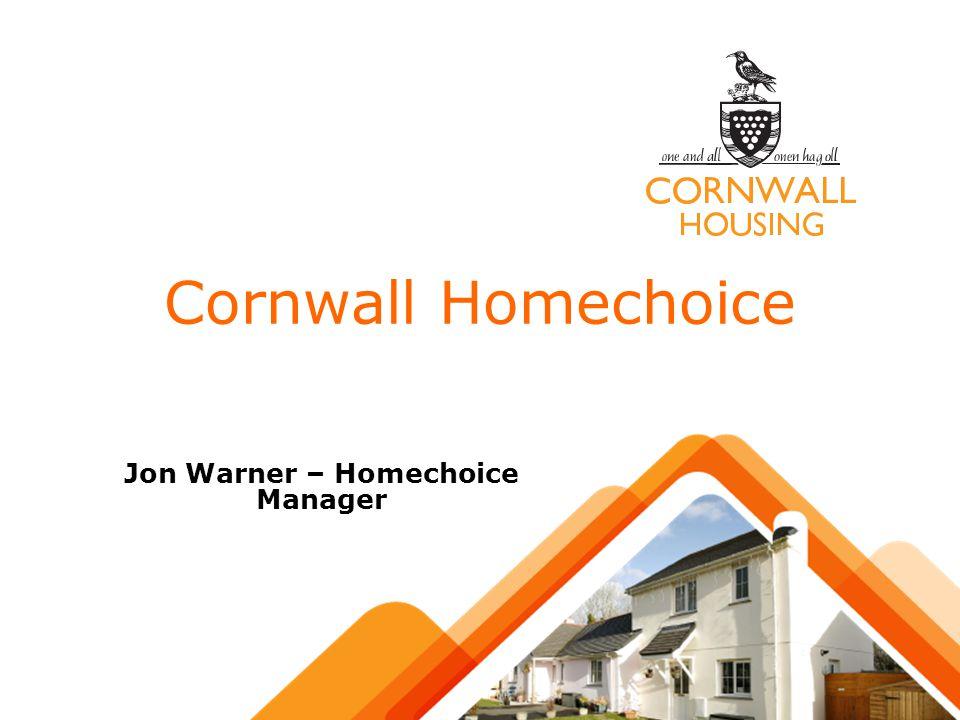 Jon Warner – Homechoice Manager