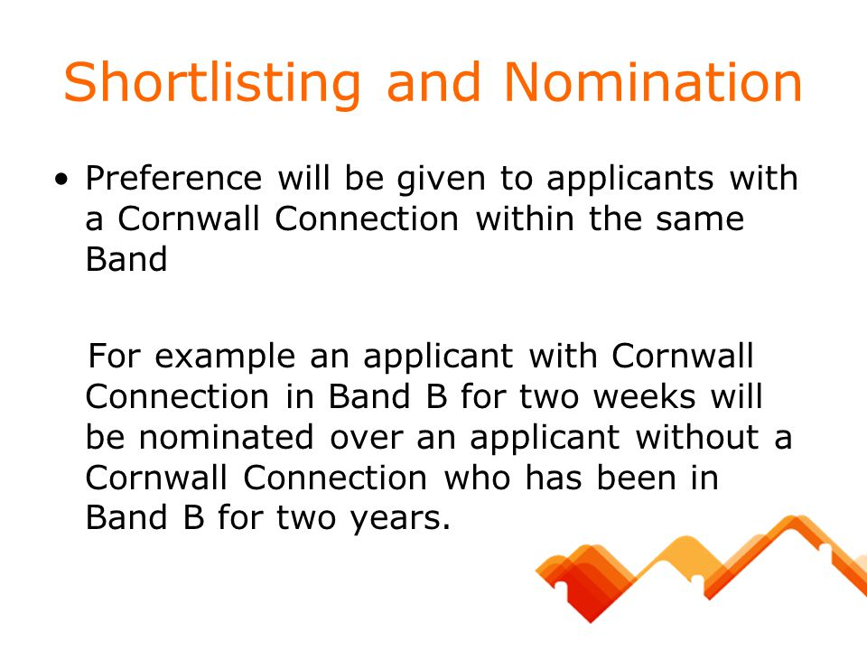 Shortlisting and Nomination