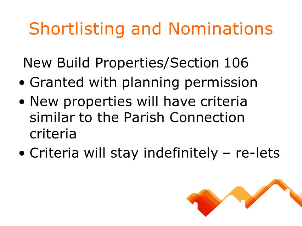 Shortlisting and Nominations