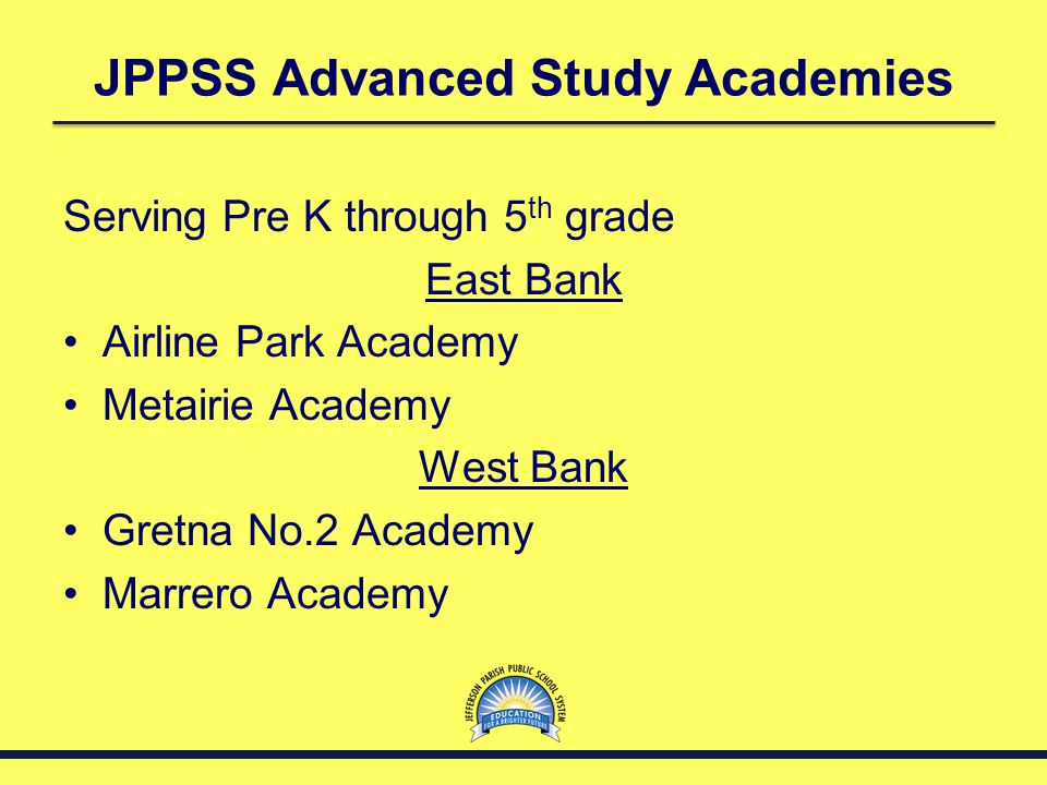 JPPSS Advanced Study Academies