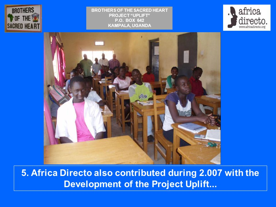5. Africa Directo also contributed during 2