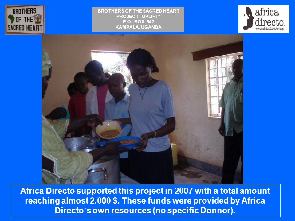 Africa Directo supported this project in 2007 with a total amount reaching almost 2.000 $.
