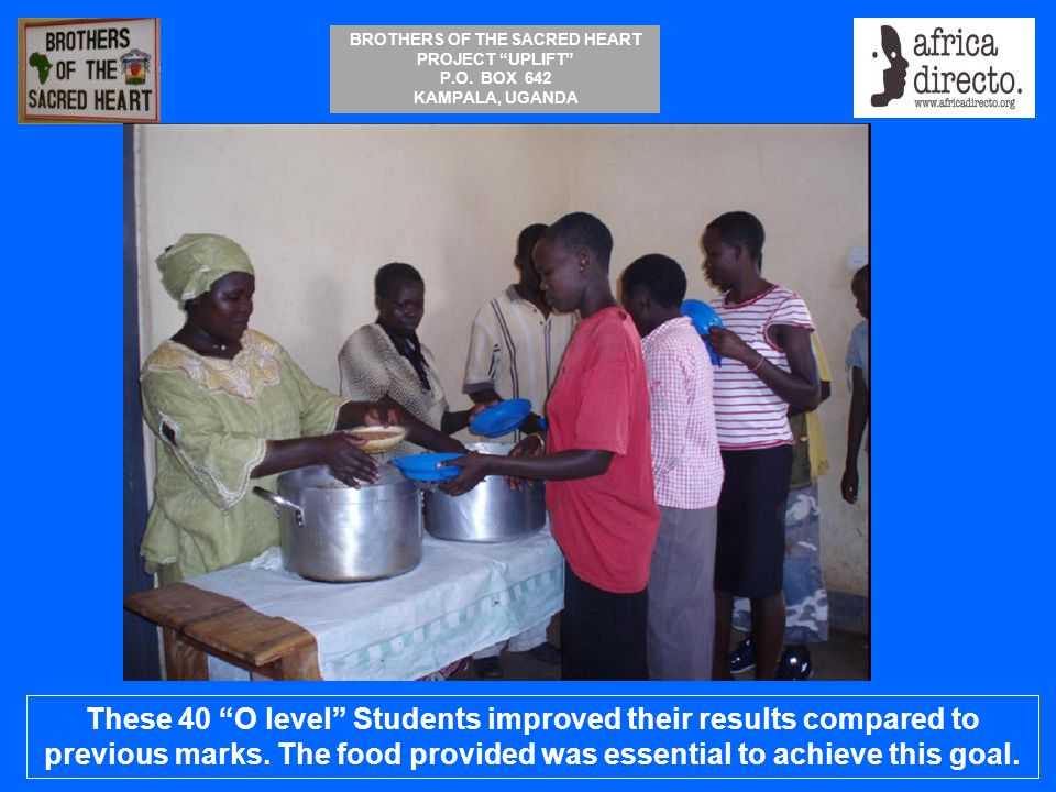 These 40 O level Students improved their results compared to previous marks.