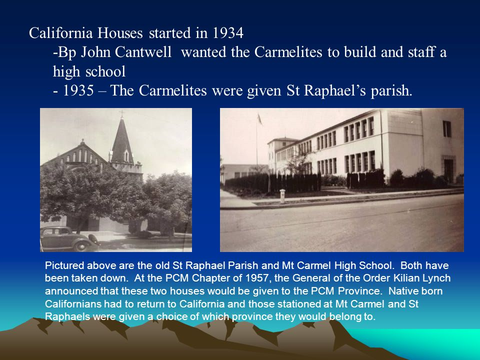 California Houses started in 1934