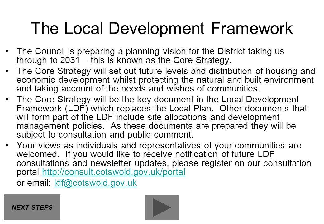 The Local Development Framework