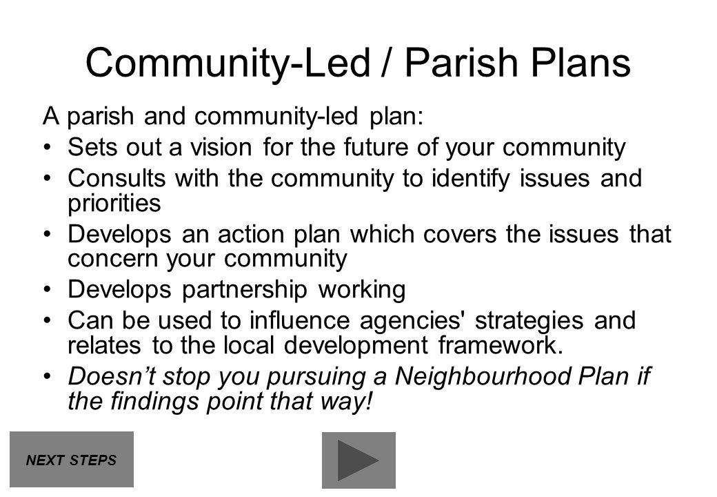 Community-Led / Parish Plans