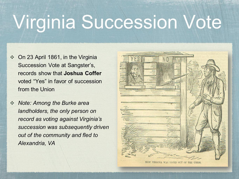 Virginia Succession Vote