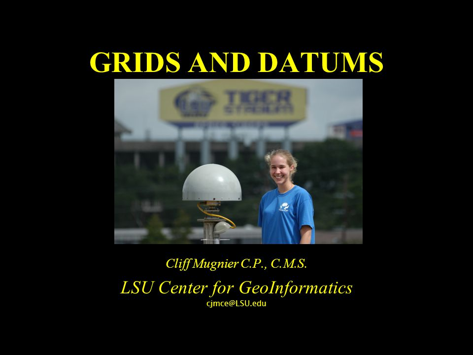 LSU Center for GeoInformatics