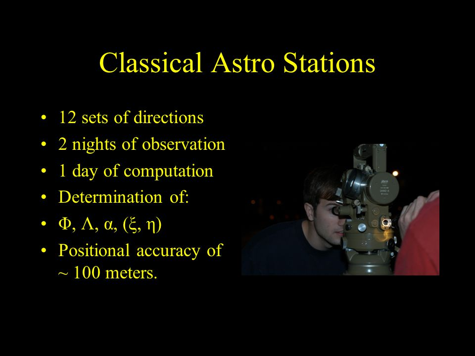 Classical Astro Stations