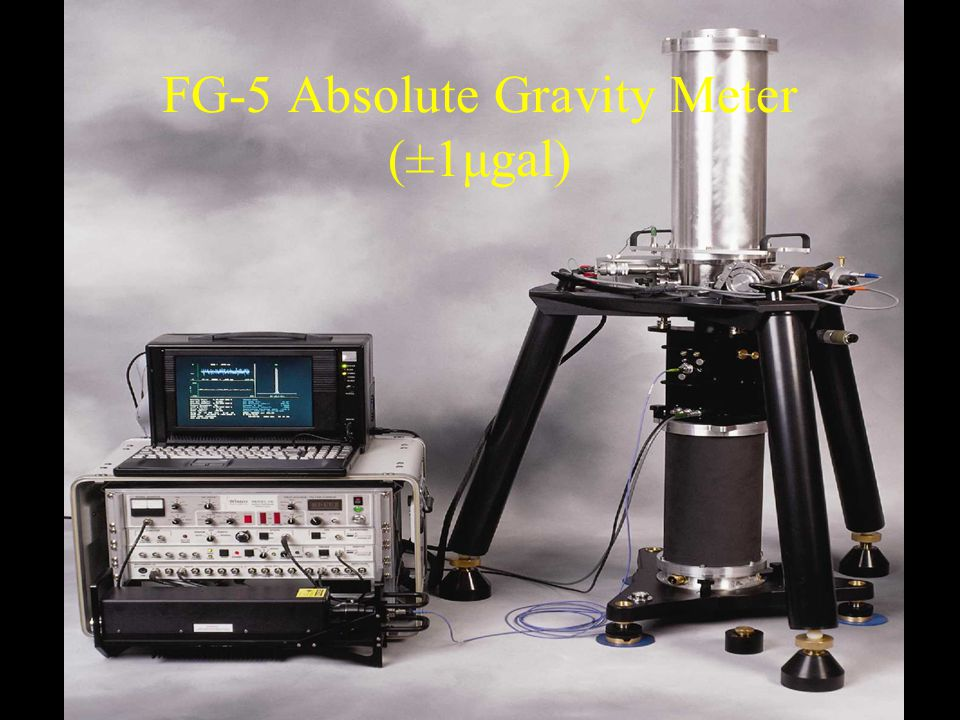 FG-5 Absolute Gravity Meter (±1μgal)