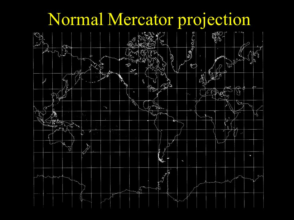 Normal Mercator projection