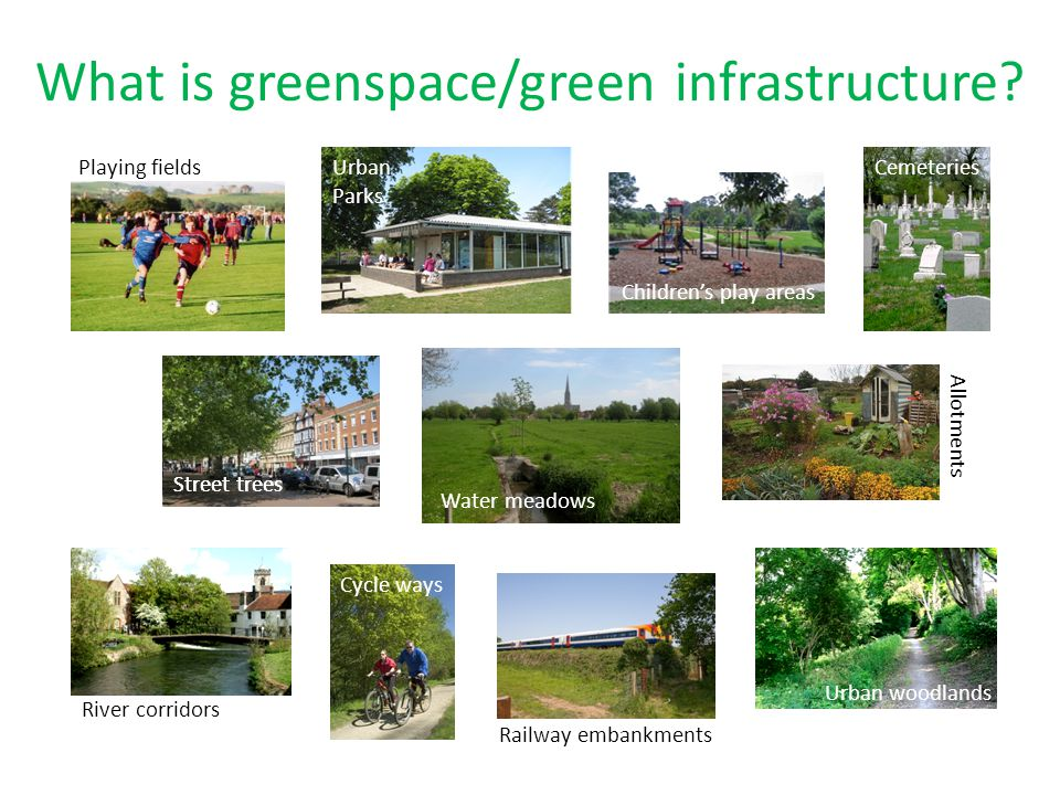 What is greenspace/green infrastructure
