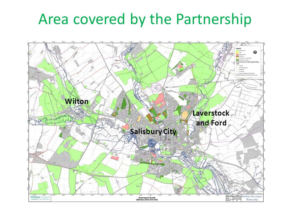 Area covered by the Partnership