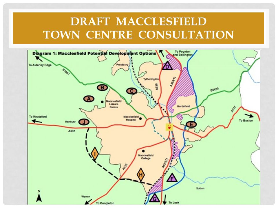 Draft macclesfield town centre consultation