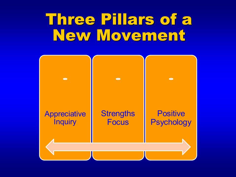 Three Pillars of a New Movement