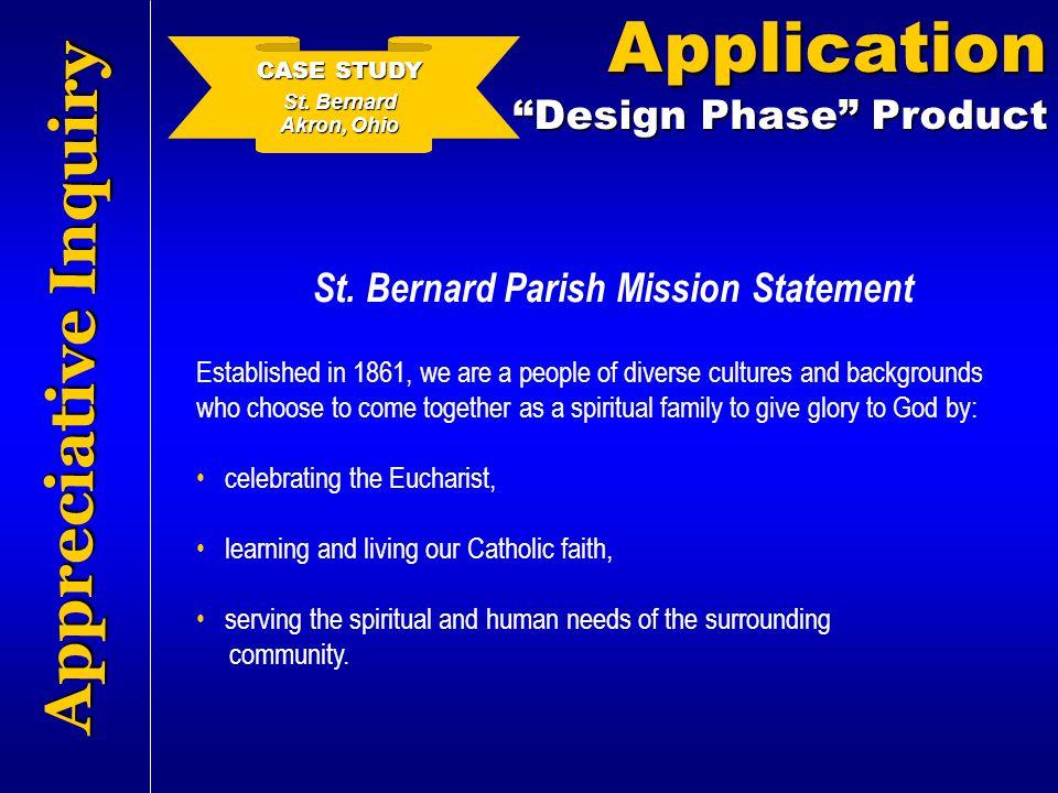 St. Bernard Parish Mission Statement