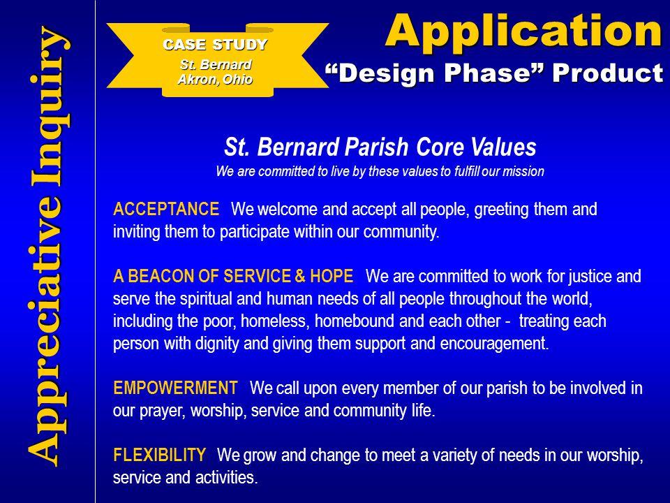 St. Bernard Parish Core Values