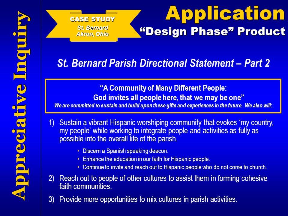 St. Bernard Parish Directional Statement – Part 2