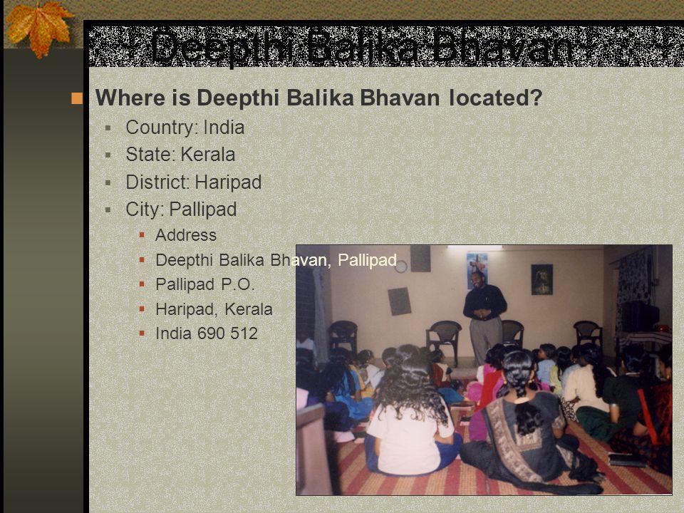 Deepthi Balika Bhavan Where is Deepthi Balika Bhavan located