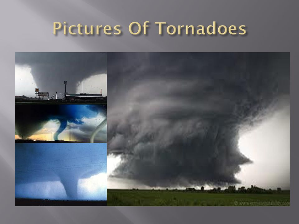 Pictures Of Tornadoes