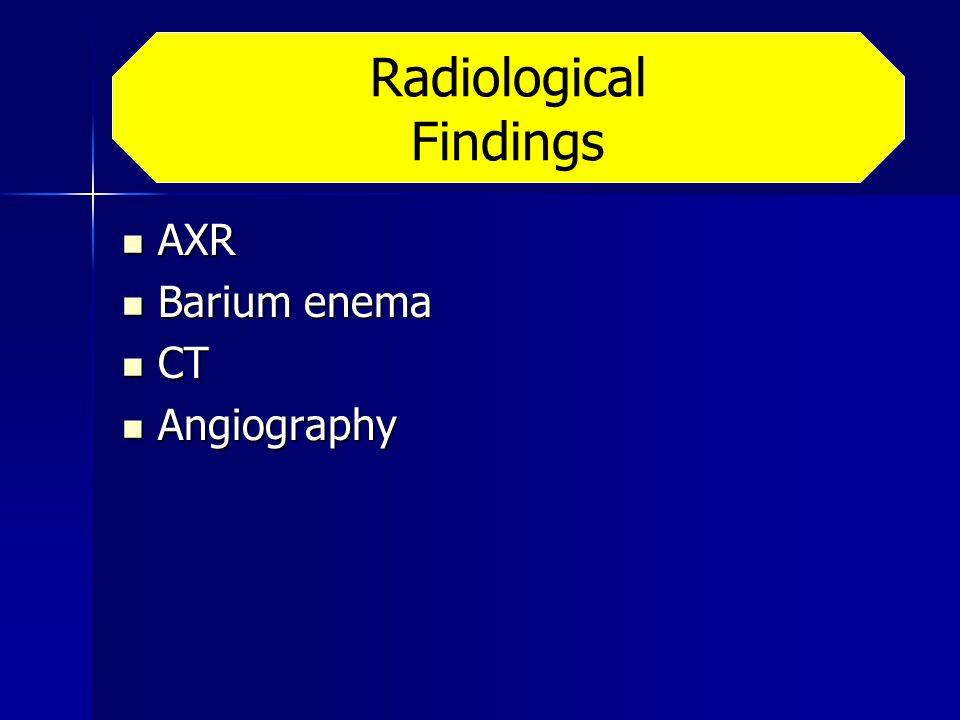 Radiological Findings