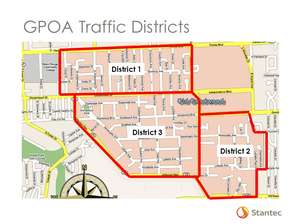 GPOA Traffic Districts